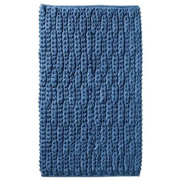 Threshold Textured Bath Rug - Sandoval Blue (20x34