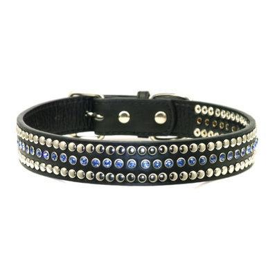 Hip Doggie HD-4BWC-S Small Blue Winston Collar