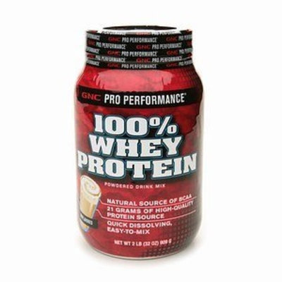 GNC Pro Performance 100% Whey Protein - Unflavored 2lbs