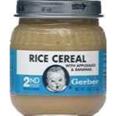 Gerber® 2nd Foods Rice Cereal With Applesauce