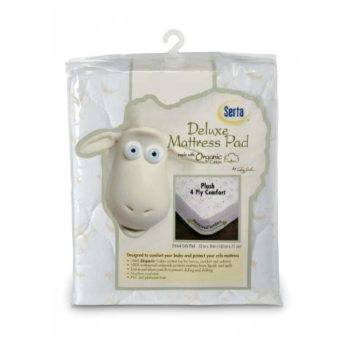Serta Organic Waterproof Mattress Cover (Discontinued by Manufacturer)