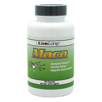 Livelong Nutrition LiveLong MACA 1500mg per serving 100 Caps