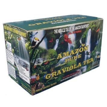 Amazonpure Natural Graviola Herbal Tea Bags - 20 CT