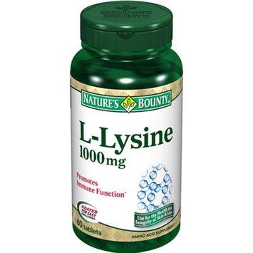 Nature's Bounty L-Lysine 1000mg