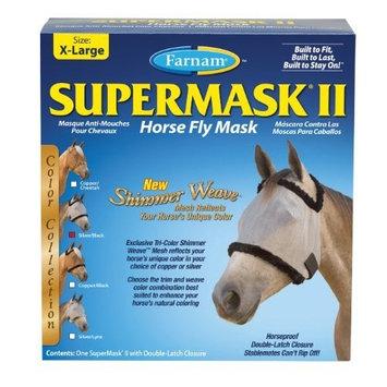 Farnam SuperMask Shimmer Weave Fly Control Mesh for Horses, X-Large