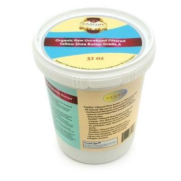 SAAQIN ® 32oz. Organic Yellow FILTERED CREAMY Shea Butter By SaaQin®