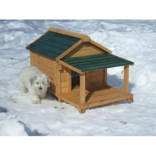 Premium Pet SS1100 Insulated Cedar Dog House Size: Large ( 39