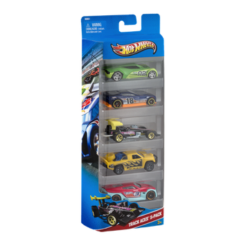 Hot Wheels HW Racing Track Aces - 5 PK