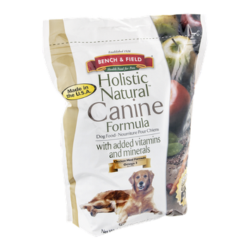 Bench & Field Holistic Natural Canine Formula Dog Food