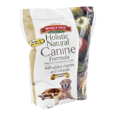 Bench & Field Holistic Natural Canine Formula Dog Food