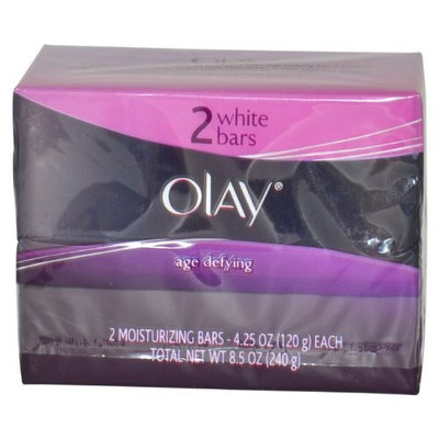 Age Defying Moisturizing White Bars by Olay, 2 Count