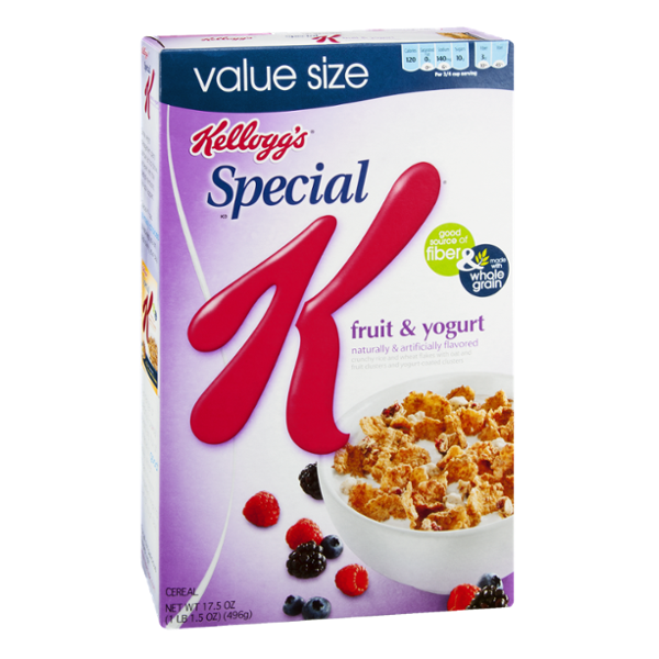 Special K® Kellogg's Fruit & Yogurt Cereal