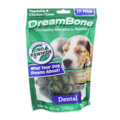 Dream Bone Chews Dental - 16 CT