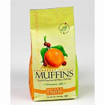 Sticky Fingers Bakeries Muffin Mix Cranberry Orange -- 19 oz