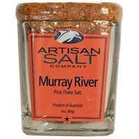 Saltworks Murray River Sea Salt - 3-oz. glass jar - Artisan