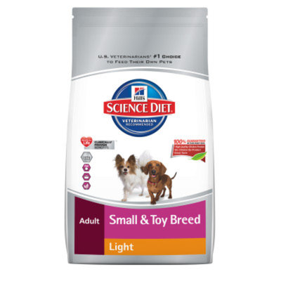Hill's Science Diet Small & Toy Breed Light Adult Dog Food