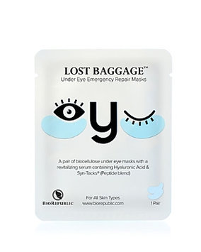 BioRepublic Lost Baggage Under Eye Emergency Repair Masks
