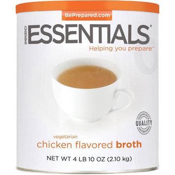 Emergency Essentials Food Vegetarian Chicken Flavored Broth, 74 oz