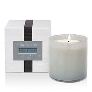 LAFCO House & Home Spike Lavender Candle - Media Room