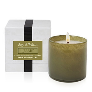 LAFCO House & Home Sage & Walnut Candle - Library