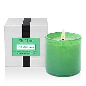Lafco(c) Meditation Room Mint Tisane Glass Candle by Lafco