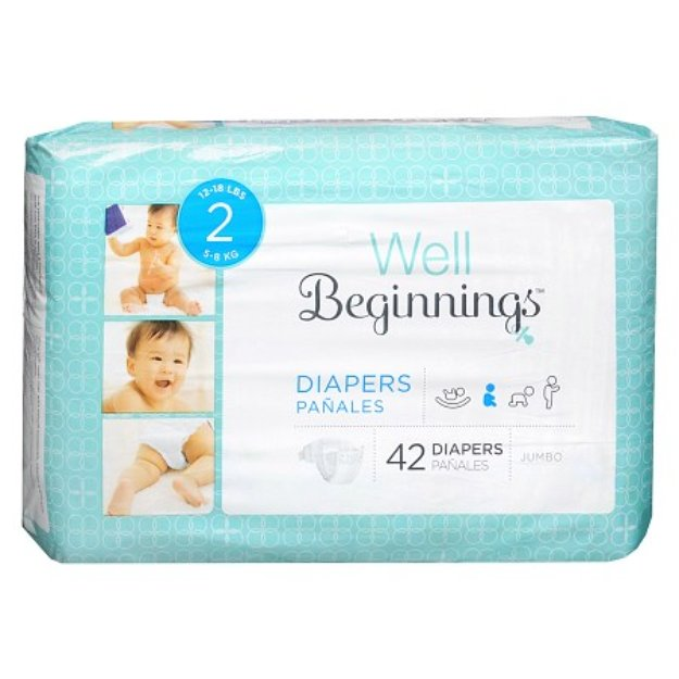 Walgreens Well Beginnings Premium Diapers Jumbo 2
