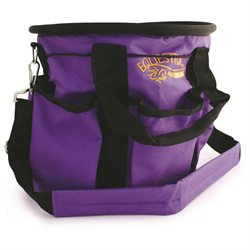 Desert Equestrian Equestria Grooming Bag Purple 10 Inches - 2192