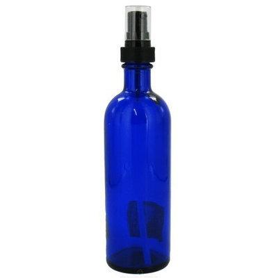 Sanctum Aromatherapy Essential Oil Supplies: Empty Blue Glass 4 count 200 Milliliters