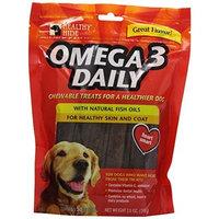 Salix Llc Healthy Hide Omega 3 Daily Chewable Dog Treats, 3-Inch, 30-Pack