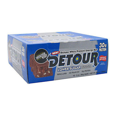 Detour Chocolate Chip Caramel Whey Protein Bars