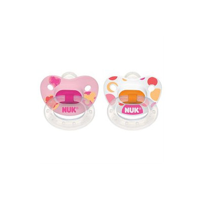 Nuk Silicone Nature Pacifier - Size 1 - 2 pack