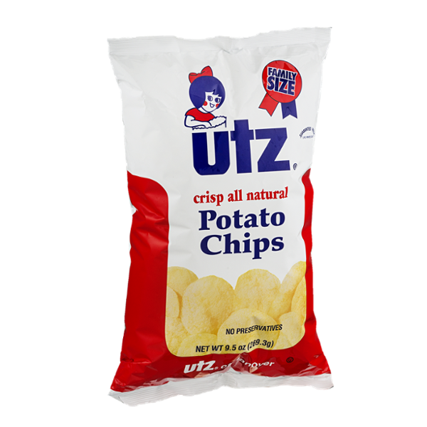 Utz All Natural Potato Chips