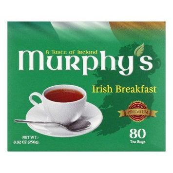 Murphys Tea Irish Breakfast Bags 80 Bg Pack Of 6