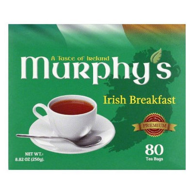 Murphys Tea Irish Breakfast Bags 80 Bg Pack Of 6