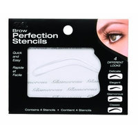 Ardell Brow Perfection Stencils, 4-Count (Pack of 3)