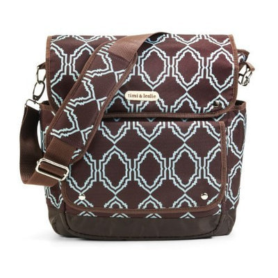 Timi And Leslie timi & leslie 2 in 1 Backpack Diaper Bag, Sahara Brown (Discontinued by Manufacturer)