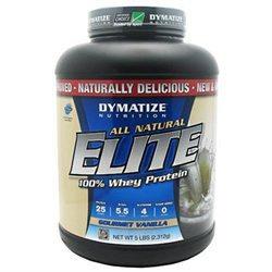 Dymatize Enterprises Inc. Dymatize Elite All Natural Whey Protein Isolate - Gourmet Vanilla
