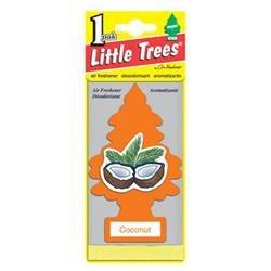 Car Freshener U1P-10317 Little Tree Air Fresheners, Coconut Little