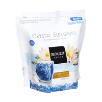 Renuzit Aroma Crystal Elements Sapphire Waters Air Freshening Crystals - 2 CT