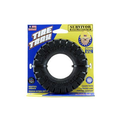 PETSPORT USA INC 4.5 Tire Trax Dog Toy