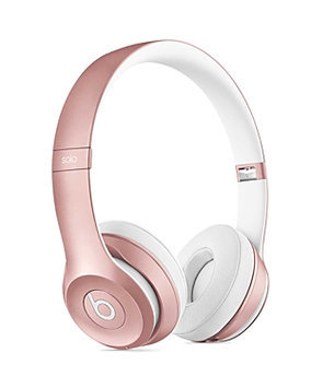 Beats Solo2 Wireless On-Ear Headphones - Rose Gold