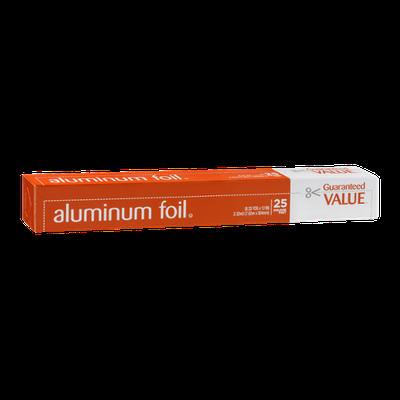Guaranteed Value Aluminum Foil - 25 Sq Ft