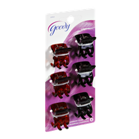 Goody Channon Claw Clips - 6 CT