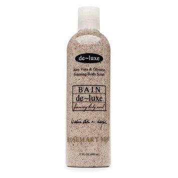 de-luxe Bain Foaming Body Scrub Amber Vanilla 17 Fl Oz