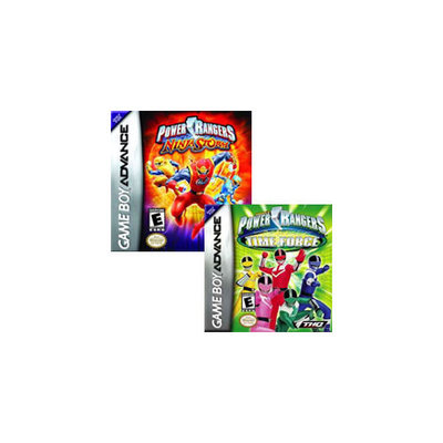 THQ Power Rangers Double Pack