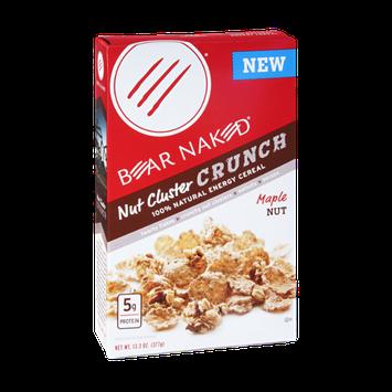 Bear Naked Nut Cluster Crunch Natural Energy Cereal Maple Nut