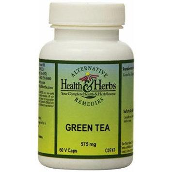Alternative Health & Herbs Remedies Green Tea Capsules, 60-Count Bottle (Pack of 2)