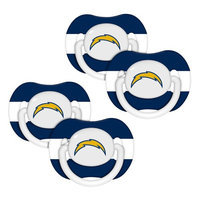 Baby Fanatic San Diego Chargers NFL 4-pack Baby Pacifiers