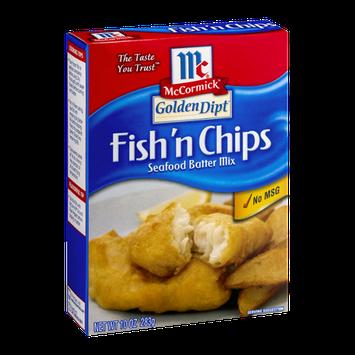 McCormick Golden Dipt Fish 'n Chips Seafood Batter Mix
