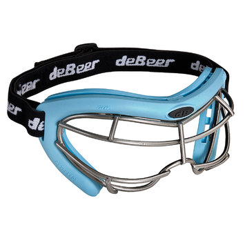 J. Debeer & Son Inc. DeBeer Lacrosse Vista SI Goggle Blue Frame and Silver Wire